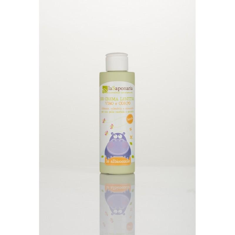 Crema organica calmanta pentru fata si corp 150ML