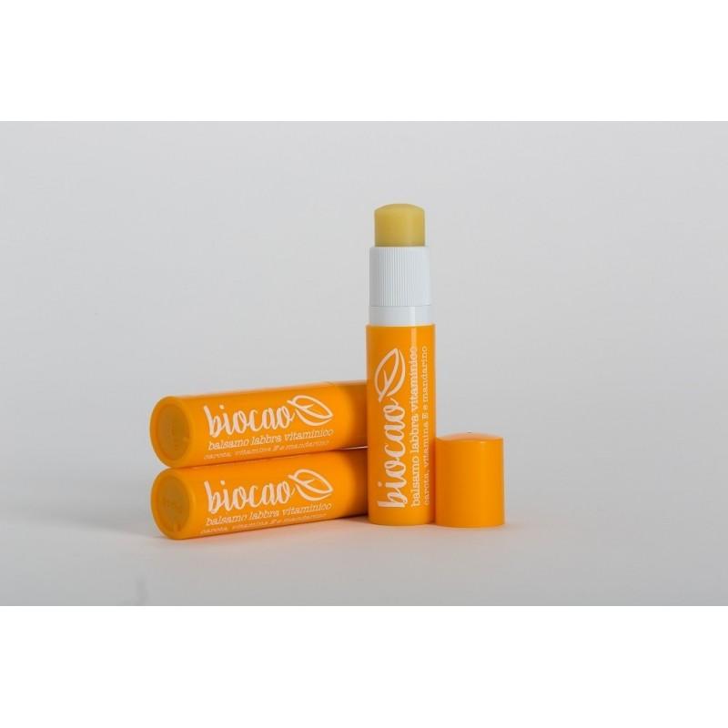 Balsam organic cu vitamina E pentru buze 5.7 ml