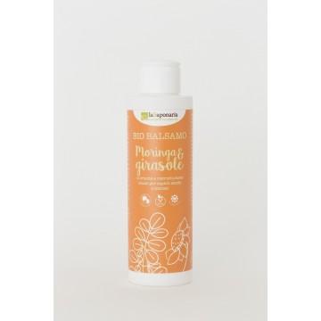 Balsam organic cu Moringa si Floarea-Soarelui 150 ml