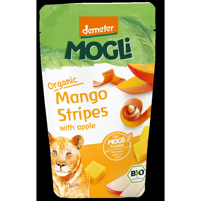 Fâșii de fructe - Mango și măr