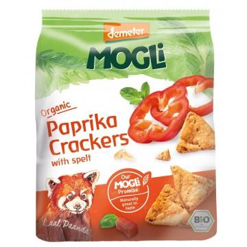 Crackers sărați  cu Paprika
