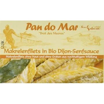 File de macrou în sos de muștar Dijon