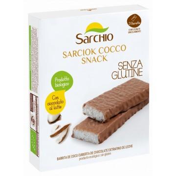 Batoane cocos și ciocolată - Sarchio