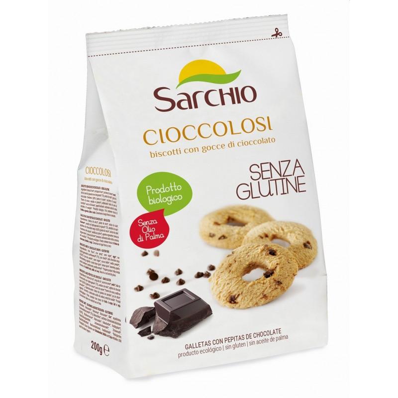 Biscuiți Sarchio Cioccolosi  cu ciocolată și cacao