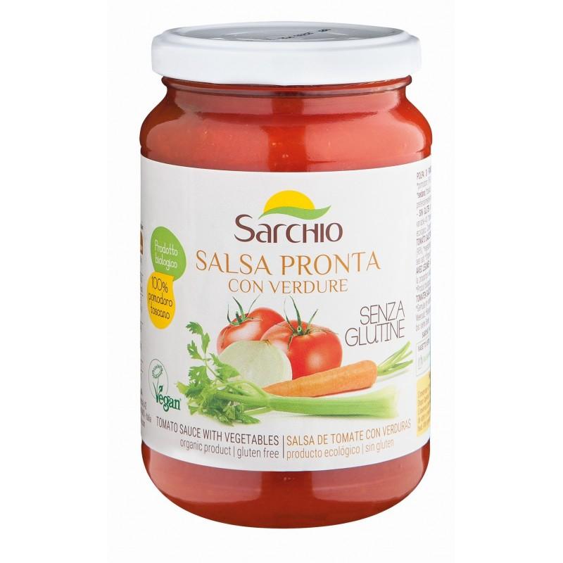 Sos din pulpă de roșii cu legume - Sarchio