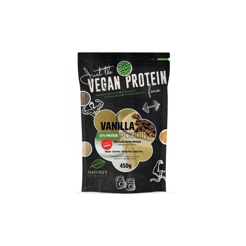 Budincă proteică  55% de vanilie cu Stevie - Nutrisslim