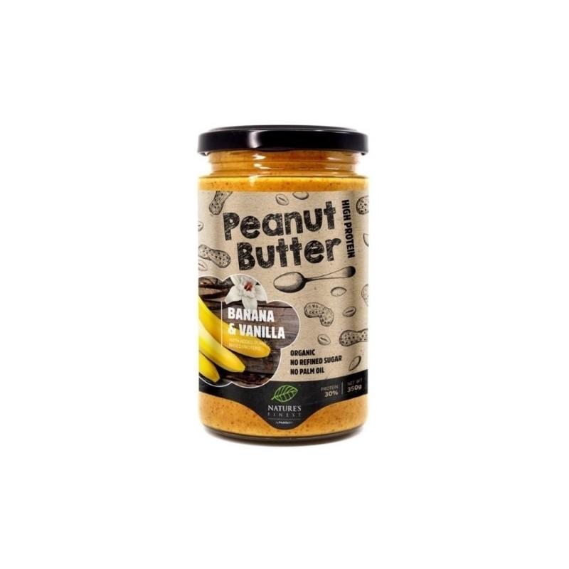 Unt de arahide cu banane și vanilie - Nature`s Finest