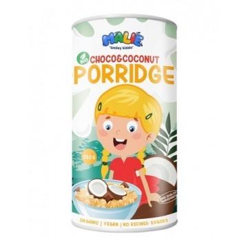 Porridge cu ciocolată și cocos eco pentru copii - Malie