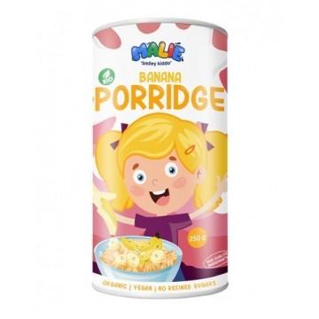 Porridge cu banană eco pentru copii 250g - Malie