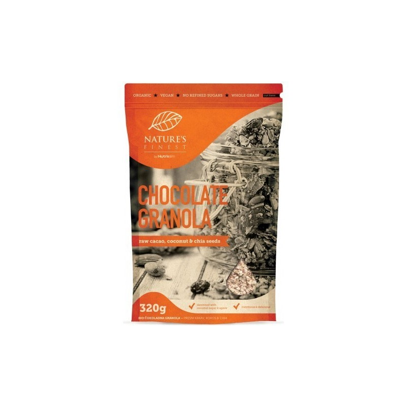 Chocolate Granola Bio  - Nature`s Finest