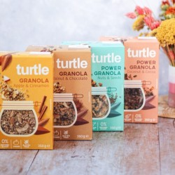 POWER GRANOLA TURTLE- NUTS AND SEEDS - 350G