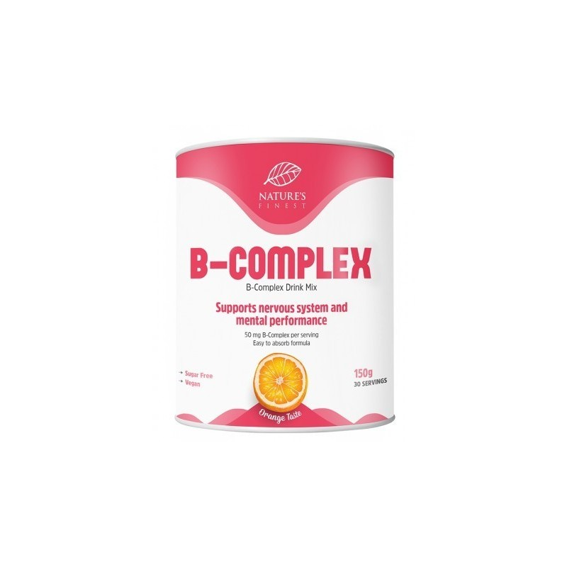 Complex Vitamin B - 150g - Nature`s Finest