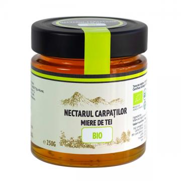 Miere bio de tei Nectarul Carpaților - 250g
