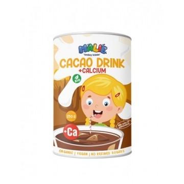 Cacao pudră cu calciu pentru copii