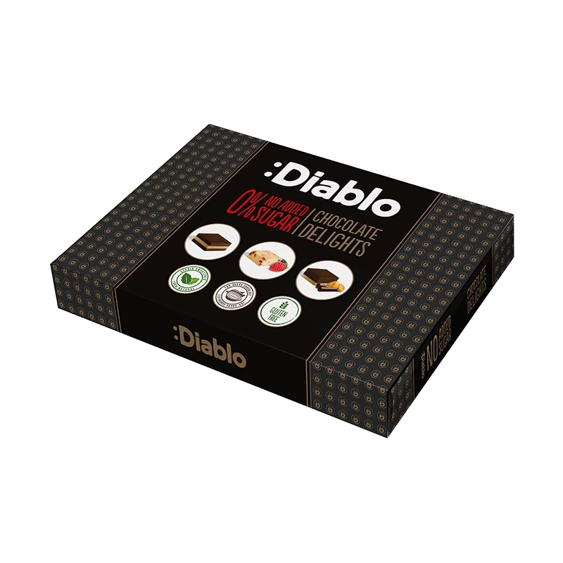 Cutie cu ciocolată fără zahăr cu stevia - Diablo