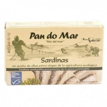 Sardine file in ulei BIO de masline - Pan do Mar 120g