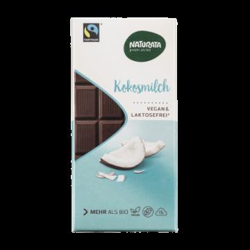 Ciocolată cu lapte de cocos - Naturata