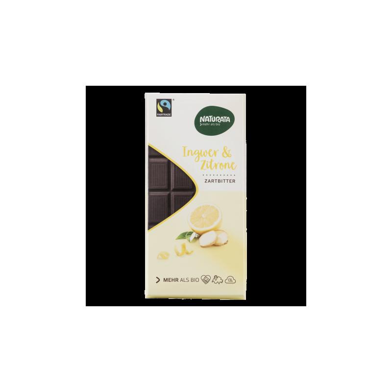 Ciocolată cu ghimbir și lămâie - Naturata