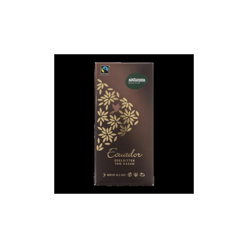 Ciocolată neagră 70% cacao Ecuador - Naturata