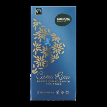 Ciocolată neagră 50% cacao cu lapte Costa Rica - Naturata