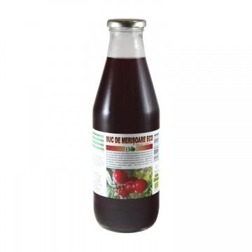 Suc de Merisoare Indulcit natural Bio 750 ml