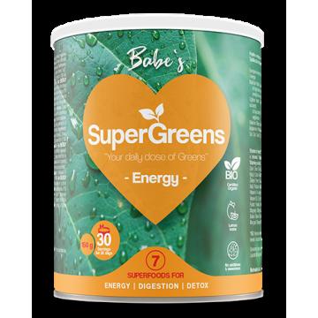 Babe's bautura eco super greens energy 150 gr