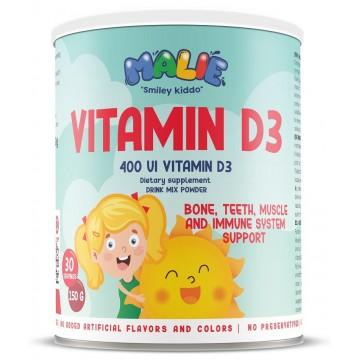 Malie Vitamina D3 400 UI pudra 150 gr