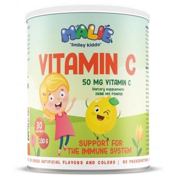 Malie Vitamina C 50 mg pudra 150 gr