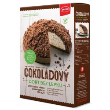 Tort de ciocolata cu umplutura 430 g, fara gluten