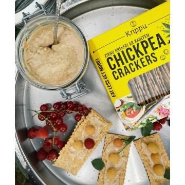 Crackers din naut cu seminte de canepa 80 gr
