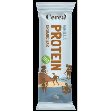 Baton eco proteic cu vanilie 45 gr (fara gluten)