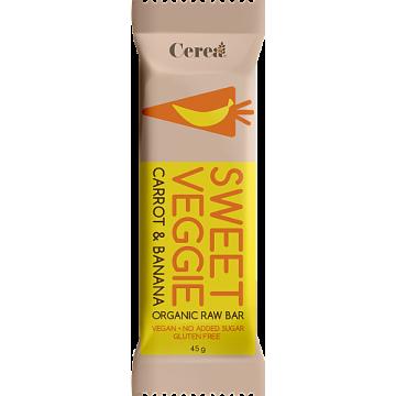 Baton eco sweet veggie cu banane si morcovi 45 gr ( fara gluten)