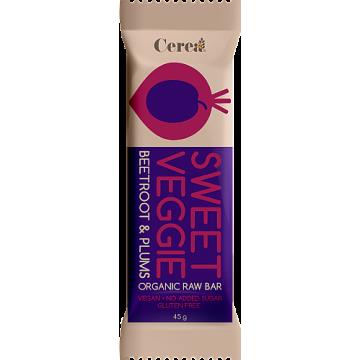 Baton eco sweet veggie cu sfecla rosie si prune  45 gr (fara gluten)