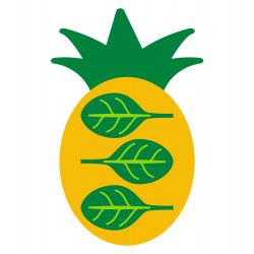 Baton eco sweet veggie cu ananas si spanac 45 gr (fara gluten)