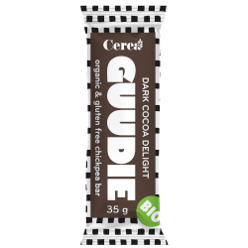 Baton eco de naut Guddie cu cacao 35 gr (fara gluten)