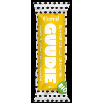 Baton eco de naut Guddie cu vanilie 35 gr (fara gluten)