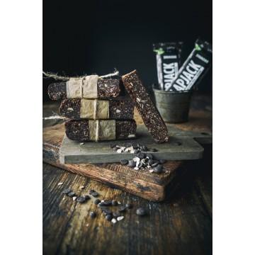 Baton eco Flapjack din fulgi de ovaz cu ciocolata 60 gr (fara gluten)