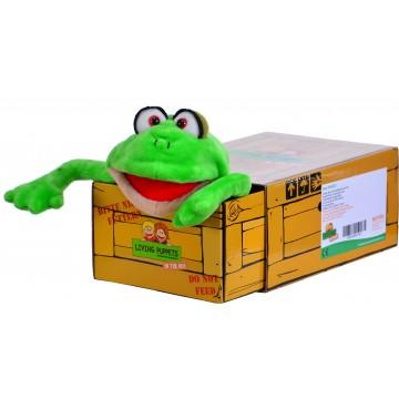 Marioneta in cutie broscuta Herr 33 cm (W729)