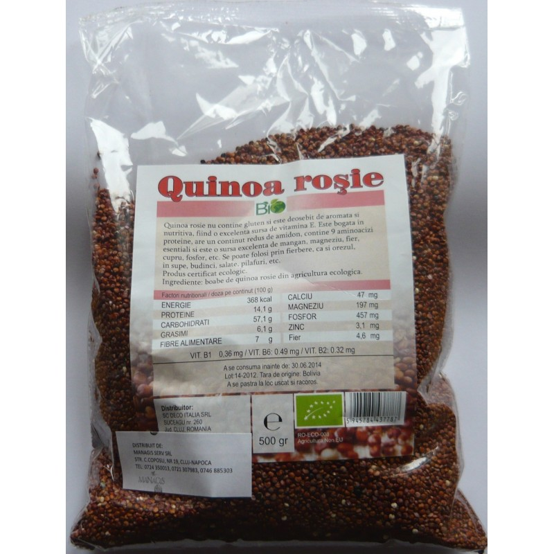 Boabe de cacao raw, 200g