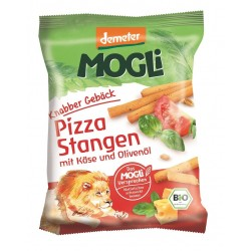 Sticks ECO Mogli pizza cu brânză și ierburi aromate - 75g