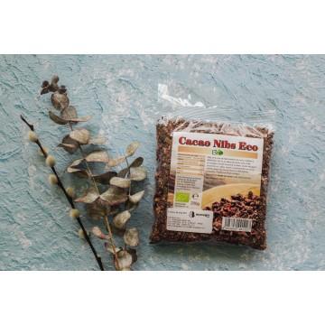 Cacao nibs (miez) bio crud, 200g
