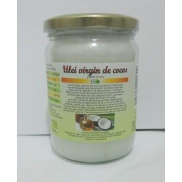 Ulei bio virgin de cocos  500ml