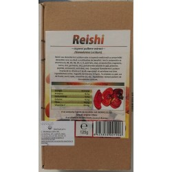 Reishi ciuperci pulbere extract bio 125g
