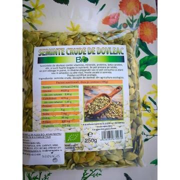 Seminte de dovleac ecologice