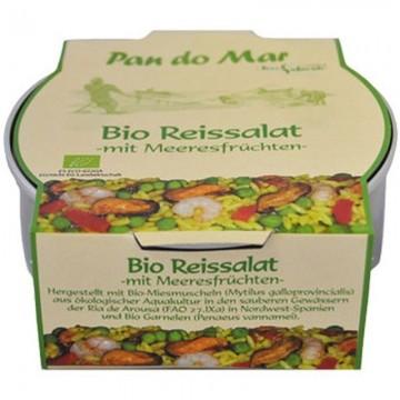 Salata de orez cu fructe de mare BIO