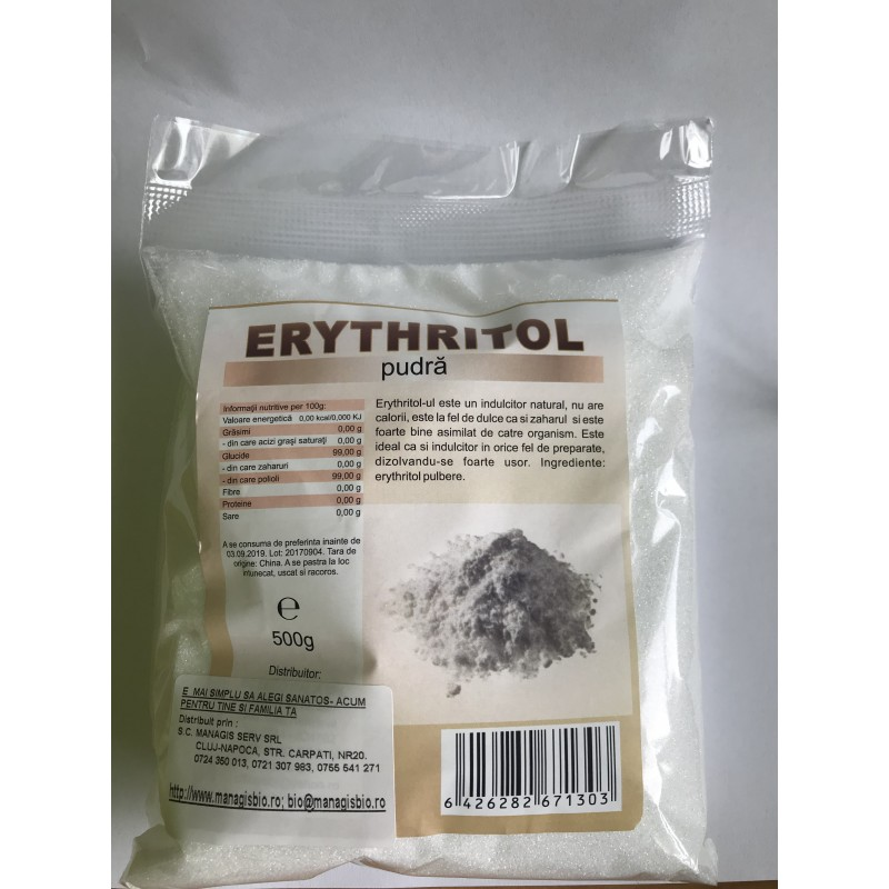 Erythritol pudra