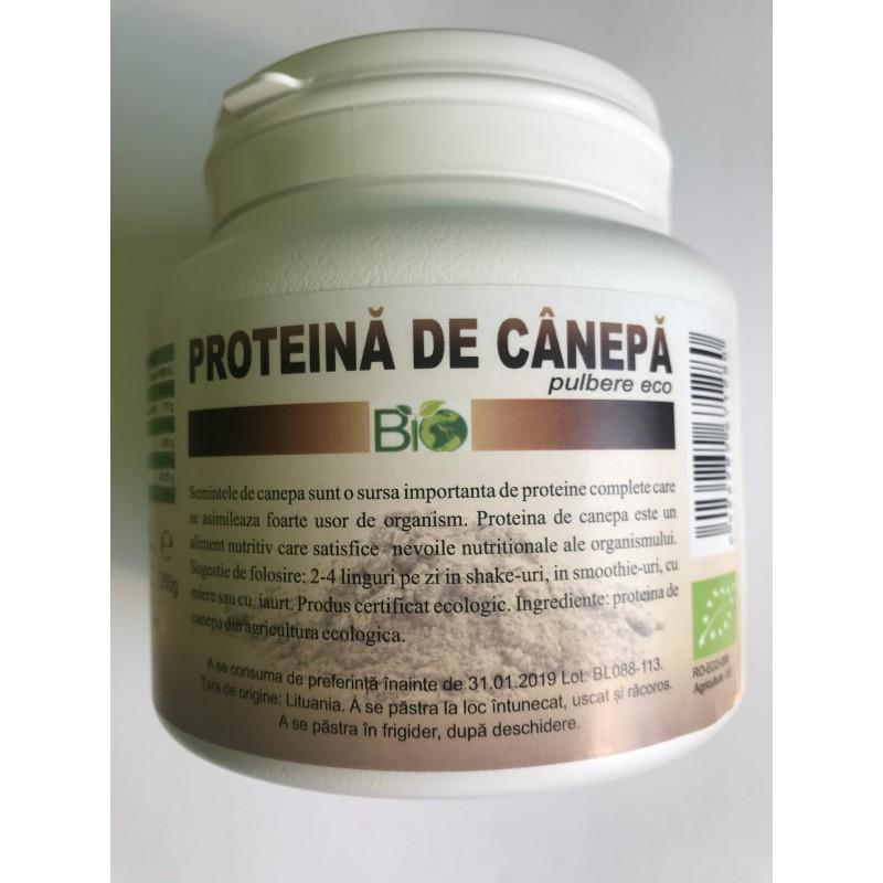 Proteina de Canepa Pudra 250gr