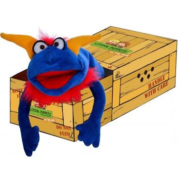 Marioneta Crazy Blue 30cm
